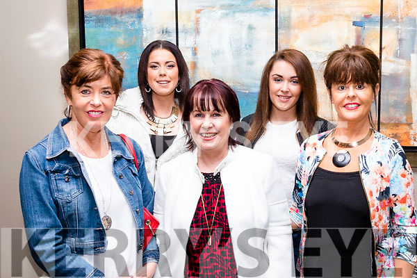 Family Fun<br /> --------------<br /> Attending the Family Game show in aid of Recovery Haven Tralee, at the Ballyroe heights hotel last Friday evening were L-R Siobhan O'Keeffe, Sarah Glavin, Liz Davies, Megan Glavin with Catherine Sugrue.