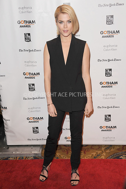 WWW.ACEPIXS.COM . . . . . .November 26, 2012...New York City....Rachael Taylor attends the IFP's 22nd Annual Gotham Independent Film Awards at Cipriani Wall Street on November 26, 2012 in New York City ....Please byline: KRISTIN CALLAHAN - ACEPIXS.COM.. . . . . . ..Ace Pictures, Inc: ..tel: (212) 243 8787 or (646) 769 0430..e-mail: info@acepixs.com..web: http://www.acepixs.com .