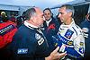 François DELECOUR (FRA) PEUGEOT 306 Maxi #14, Jean Pierre NICOLAS (FRA), Directeur Peugeot Sport, TOUR DE CORSE 1998
