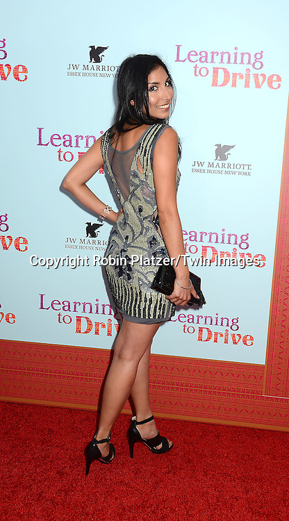 Meetu Chilana attends the NewYork VIP Premiere of &quot;Learning to Drive&quot;<br /> on August 17, 2015 at The Paris Theatre in New York City, New York, USA. <br /> <br /> photo by Robin Platzer/Twin Images<br />  <br /> phone number 212-935-0770