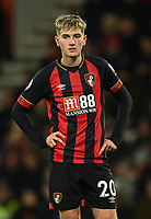 Bournemouth's David Brooks<br /> <br /> Photographer David Horton/CameraSport<br /> <br /> The Premier League - Bournemouth v Brighton and Hove Albion - Saturday 22nd December 2018 - Vitality Stadium - Bournemouth<br /> <br /> World Copyright © 2018 CameraSport. All rights reserved. 43 Linden Ave. Countesthorpe. Leicester. England. LE8 5PG - Tel: +44 (0) 116 277 4147 - admin@camerasport.com - www.camerasport.com