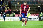 S&ouml;dert&auml;lje 2014-11-09 Fotboll Kval till Superettan Assyriska FF - &Ouml;rgryte IS :  <br /> &Ouml;rgrytes David Leinar deppar efter matchen mellan Assyriska FF och &Ouml;rgryte IS <br /> (Foto: Kenta J&ouml;nsson) Nyckelord:  S&ouml;dert&auml;lje Fotbollsarena Kval Superettan Assyriska AFF &Ouml;rgryte &Ouml;IS depp besviken besvikelse sorg ledsen deppig nedst&auml;md uppgiven sad disappointment disappointed dejected