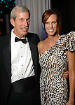 John Carrig and Sarah Goettsche Fletcher at the Houston Symphony's opening night gala dinner at The Corinthian Saturday Sept. 12, 2009. (Dave Rossman/For the Chronicle)