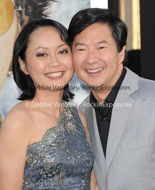 Ken Jeong and wife at Warner Bros Pictures' L.A. Premiere of The Hangover Part 2 held at The Grauman's Chinese Theatre in Hollywood, California on May 19,2011                                                                               © 2011 Hollywood Press Agency
