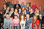 7736-7741.Birthday Girl - Fiona Keane from Listowel, seated centre having a ball with friends and family at her special birthday bash held in Lawlor's Bar, The Square Listowel on Friday night.
