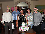 Sandra Reay celebrating her 50th birthday in the Thatch with brothers Adrian, Thomas and Jason and sister Nicola. Photo:Colin Bell/pressphotos.ie