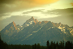 Sunset on Jackson Lake, Grand Teton National Park