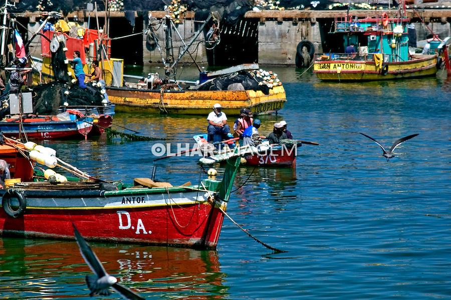 Porto de Antofagasta. Chile. 2004. Foto de Maristela Colucci.