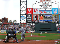 MLB Baseball: San Diego Padres vs. San Francisco Giants<br /> Game Action<br /> AT and T Park/San Francisco, CA, USA<br /> 6/25/2014<br /> X158419 TK1<br /> Credit: Brad Mangin