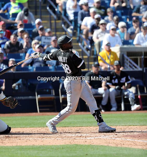 Luis Robert - Chicago White Sox 2020 spring training (Bill Mitchell)