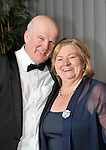 John and Norrie King pictured at the IHF confernece banquet in the Malton Hotel on Tuesday night..Photo: Don MacMonagle