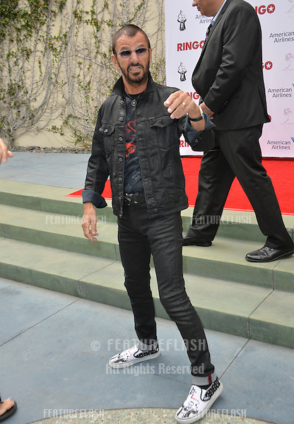 Ringo Starr at photocall at Capitol Records, Hollywood, to celebrate his 75th birthday.<br /> July 7, 2015  Los Angeles, CA<br /> Picture: Paul Smith / Featureflash