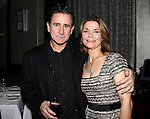 Anthony LaPaglia & Kathryn Erbe attending the Opening Celebration for 'Checkers' at the Vineyard Theatre in New York City on 11/11/2012