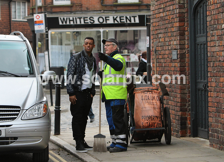**ALL ROUND PICTURES FROM SOLARPIX.COM**.**NO UK NEWSPAPER PUBLICATION**.**UK MAGAZINE & SUPPLEMENT PUBLICATION ONLY** AND NO PUBLICATION IN AUSTRALIA, BELGIUM, FRANCE, GERMANY, ITALY, SCANDINAVIA AND USA** .A lucky Kent sixth-former has her dream come true as Brit award winners JLS invite her onto stage with them during the filming of an exciting new Walkers ad in Sandwich, Kent..The TV advert will air nationwide from Wednesday 10th March onwards. Further information at www.walkers.co.uk.This pic:  Brit award winners JLS surprise the residents of Sandwich, Kent with a walk around the local town whilst filming an exciting new Walkers ad..JOB REF:  10385         SFE       DATE: 03.03.10.**MUST CREDIT SOLARPIX.COM OR DOUBLE FEE WILL BE CHARGED**.**MUST NOTIFY SOLARPIX OF ONLINE USAGE**.**CALL US ON: +34 952 811 768 or LOW RATE FROM UK 0844 617 7637**