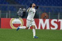 Shon Weissman of Wolfsberger celebrates after scoring the goal of 2-2 <br /> Roma 12-12-2019 Stadio Olimpico <br /> Football Europa League 2019/2020 Group J <br /> AS Roma -  Wolfsberger AC <br /> Photo Antonietta Baldassarre / Insidefoto