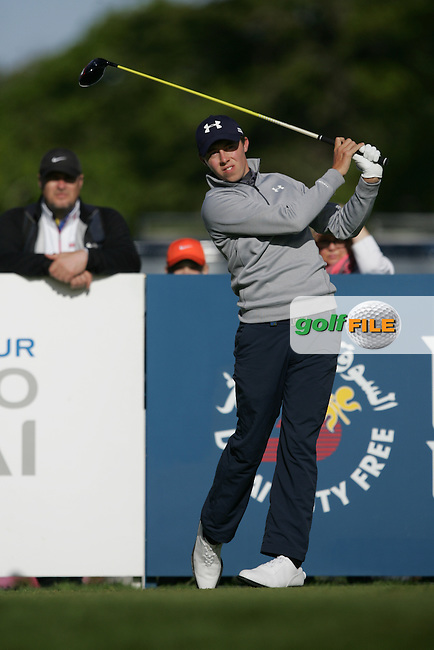 Matt Fitzpatrick (ENG) during Wednesday's Pro-Am ahead of the 2016 Dubai Duty Free Irish Open Hosted by The Rory Foundation which is played at the K Club Golf Resort, Straffan, Co. Kildare, Ireland. 18/05/2016. Picture Golffile | TJ Caffrey.<br /> <br /> All photo usage must display a mandatory copyright credit as: &copy; Golffile | TJ Caffrey.