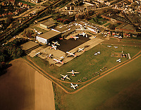 Oktober 1972. Luchthaven van Deurne.