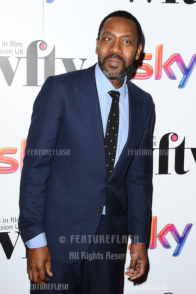 Lenny Henry arriving for the Women in Film and Television Awards 2013 at the Hilton Park Lane, London. 06/12/2013 Picture by: Steve Vas / Featureflash