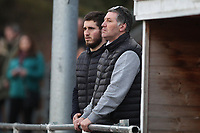 Jimmy McFarlane manager of Hornchurch is seen attending the game during AFC Hornchurch vs Canvey Island, Bostik League Division 1 North Football at Hornchurch Stadium on 10th March 2018