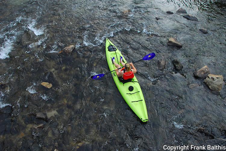 Kayaking Merced River