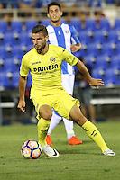 Villarreal's Mario Gonzalez during the XXXVII trophy of Legane's City between CD Leganes and Villarreal CF at Butarque Stadium. August 13, 2016. (ALTERPHOTOS/Rodrigo Jimenez) /NORTEPHOTO