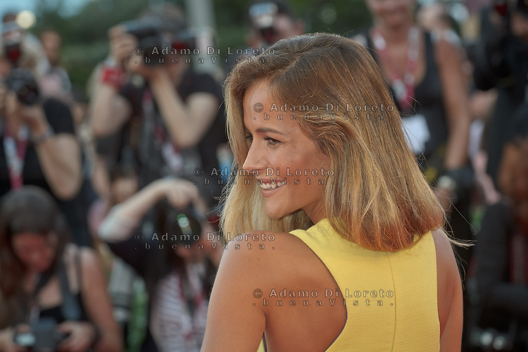 "Natalia Borges attends ""The Gravity"" photocall during the 70th Venice Film Festival in Italy, on  August 28, 2013. (Photo by Adamo Di Loreto/BuenaVista*photo)"