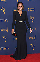 09 September 2018 - Los Angeles, California - Chrissy Teigen. 2018 Creative Arts Emmy Awards - Press Room held at Microsoft Theater. <br /> CAP/ADM/BT<br /> &copy;BT/ADM/Capital Pictures