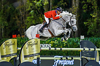USA-Richard Spooner rides Quirado RC during the Challenge Cup: 2019 CSIO Barcelona - Longines FEI Nations Cup Jumping Final. Reial Club de Polo de Barcelona. Spain. Saturday 5 October. Copyright Photo: Libby Law Photography
