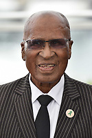 CANNES, FRANCE - MAY 14: Andrew Mlangeni at the photocall for the 'The State Against Mandela' during the 71st annual Cannes Film Festival at Palais des Festivals on May 14, 2018 in Cannes, France. <br /> CAP/PL<br /> &copy;Phil Loftus/Capital Pictures