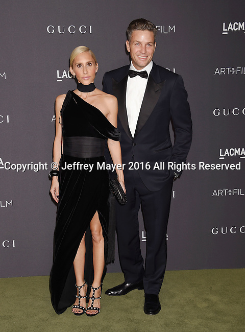 LOS ANGELES, CA - OCTOBER 29: Designers Alexandra Von Furstenberg (L) and Dax Miller attend the 2016 LACMA Art + Film Gala honoring Robert Irwin and Kathryn Bigelow presented by Gucci at LACMA on October 29, 2016 in Los Angeles, California.