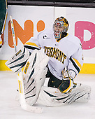 Mike Spillane (Vermont - 31) - The Boston College Eagles defeated the University of Vermont Catamounts 4-0 in the Hockey East championship game on Saturday, March 22, 2008, at TD BankNorth Garden in Boston, Massachusetts.