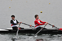 053 BradfordonAvon IM3.2x..Marlow Regatta Committee Thames Valley Trial Head. 1900m at Dorney Lake/Eton College Rowing Centre, Dorney, Buckinghamshire. Sunday 29 January 2012. Run over three divisions.