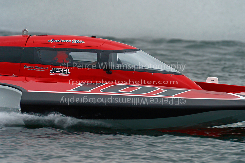"Andrew Tate, GP-101 ""Fat Chance Too"" (Grand Prix Hydroplane(s)"