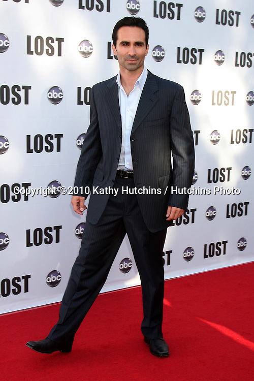 """Nestor Carbonell .arrives at the """"Lost"""" Live:  The Final Celebration.Royce Hall, UCLA.Westwood, CA.May 13, 2010.©2010 Kathy Hutchins / Hutchins Photo.."""
