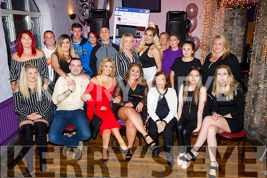 Samantha Buckley, Rahoonane, Tralee celebrates her 30th birthday with family and friends at the greyhound Bar on Saturday friend