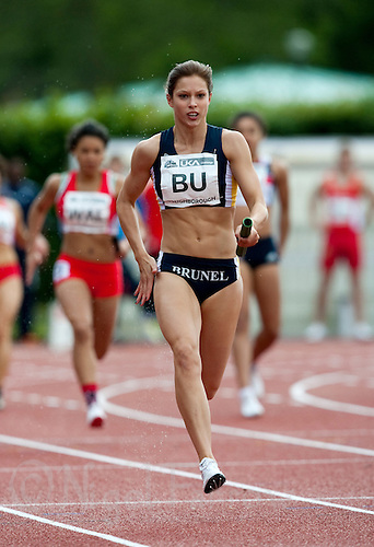 17 MAY 2009 - LOUGHBOROUGH,GBR - Joey Duck - Womens 4 x 100m Relay - Loughborough International Athletics .(PHOTO (C) NIGEL FARROW)