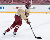 Ron Greco (BC - 28) - The Boston College Eagles practiced on the rink at Fenway Park on Friday, January 6, 2017.