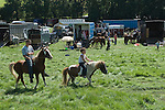 Priddy Horse Fair Somerset Uk 2009