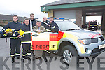 Killarney Fire Station at the presentation of the new fire truck at Killarney Fire Station on Friday..