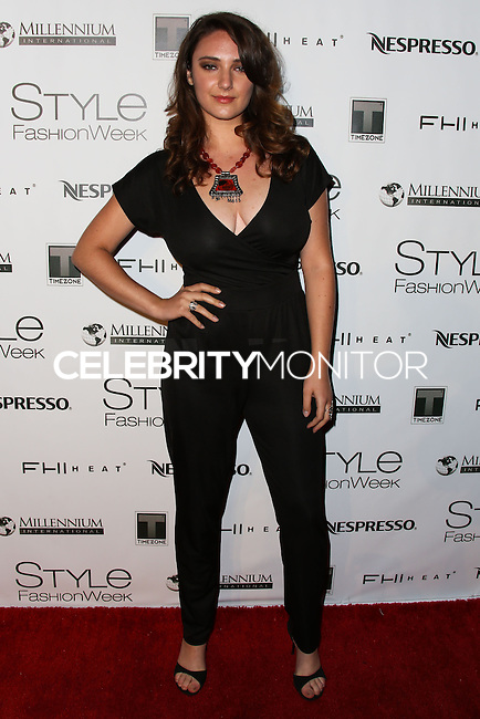 LOS ANGELES, CA, USA - MARCH 12: Danielle Tia Krett at the Style Fashion Week Los Angeles 2014 7th Season - Day 4 held at L.A. Live Event Deck on March 12, 2014 in Los Angeles, California, United States. (Photo by Xavier Collin/Celebrity Monitor)