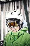 Challenge Mer et Montagne 2012, Saint Gervais les Bains, Mont Blanc, Haute Savoie, France..Ski Super Geant..Nina Caprez