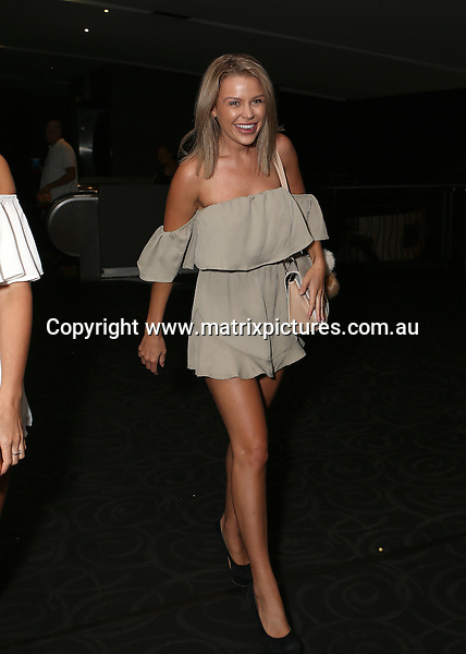 23 FEBRUARY 2017 SYDNEY AUSTRALIA<br /> WWW.MATRIXPICTURES.COM.AU<br /> <br /> EXCLUSIVE PICTURES<br /> <br /> Zilda Williams pictured with her gal pals Skye Wheatley and Karyssa Leigh heading out for a drink after a screening of Real Housewives Of Sydney.<br /> <br /> Note: All editorial images subject to the following: For editorial use only. Additional clearance required for commercial, wireless, internet or promotional use.Images may not be altered or modified. Matrix Media Group makes no representations or warranties regarding names, trademarks or logos appearing in the images.