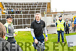 John Galvin Manager Kenmare District in the Senior County Football Championship final at Fitzgerald Stadium on Sunday.