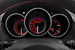 Instrument panel close up detail view of a 2008 Mazda Speed 3