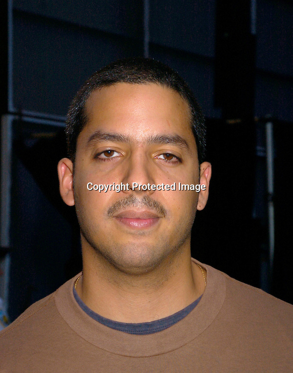 David Blaine..at the Golf Digest Wall Street Invitational Putting Contest ..on September 22, 2004 at the New York Stock Exchange...The contestants putted for a million dollars for the charity of their choice.                                                       Photo by Robin Platzer, Twin Images