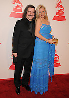 LAS VEGAS, NV - November 14: Luis Cobos and Patricia Cobos attend the Latin Grammys Person of the Year red carpet arrivals at the MGM Grand on November 14, 2012 in Las Vegas, Nevada. Photo By Kabik/ Starlitepics/MediaPunch Inc. /NortePhoto