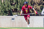 Los Angeles, CA 04/01/16 - Christian Nebergall (USC #8) in action during the University of Southern California and Loyola Marymount University SLC conference game  USC defeated LMU.
