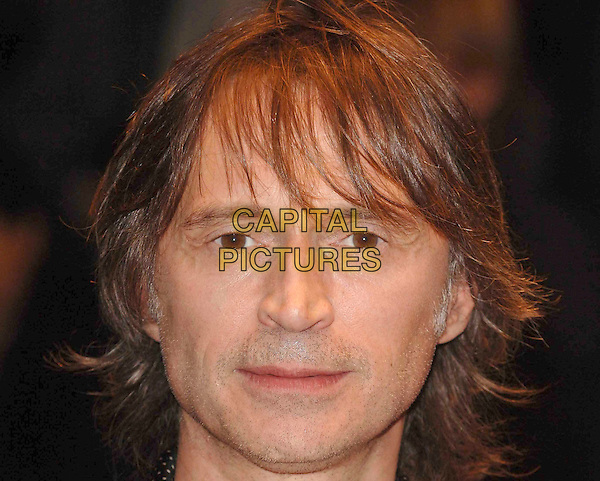 """ROBERT CARLYLE.Attending The Times BFI 52nd London Film Festival screening of """"I Know You Know"""" at Odeon West End, London, England, 25th October 2008 .portrait headshot long hair .CAP/DS.©Dudley Smith/Capital Pictures"""