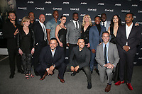 CULVER CITY, CA - MARCH 7: Ryan Kwanten, Linda Purl, Robert Gossett, Isaac Keys, Eve Mauro, Curtis&quot;50 Cent&quot; Curtis Jackson, Elisabeth Rohm, Joseph Julian Soria, Arlen Escarpeta, Kwame Patterson, Katrina Law, Cory Hardrict, Jeff T. Thomas<br /> , pictured at Crackle's The Oath Premiere at Sony Pictures Studios in Culver City, California on March 7, 2018. <br /> CAP/MPIFS<br /> &copy;MPIFS/Capital Pictures