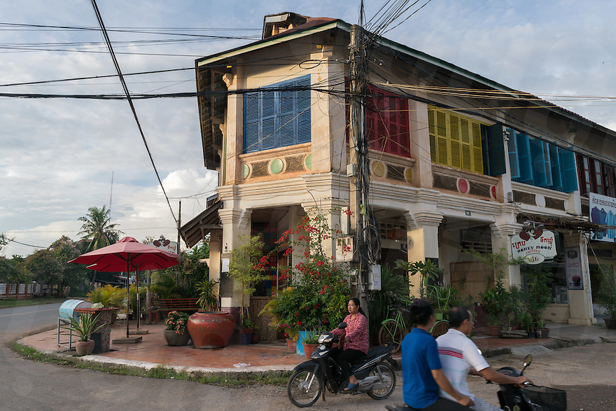 September 20, 2016 - Kampot (Cambodia). A view of Kama restaurant in Kampot town. © Thomas Cristofoletti / Ruom